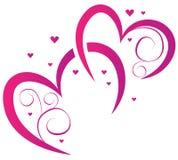 Elemente für Design für Valentinstag Stockfoto