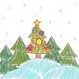 Elemente für Feiertagsentwurf Lizenzfreie Stockbilder