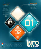 Elemente Infographic UI Lizenzfreies Stockfoto