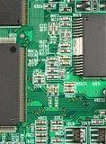 Elemente von elektronischem Stockfoto
