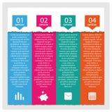 Elemente von infographics, Vektorillustration Lizenzfreie Stockbilder