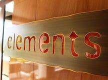 elementen royalty-vrije stock afbeeldingen
