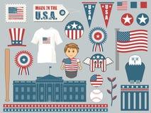 Elementen van Amerika Stock Foto's