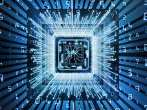 Elementen van Computer cpu Royalty-vrije Stock Afbeelding
