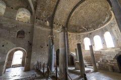 Elementen van de plaats van de kerkarchitectuur van begrafenis van Sinterklaas stock afbeeldingen