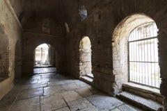 Elementen van de plaats van de kerkarchitectuur van begrafenis van Sinterklaas royalty-vrije stock foto's