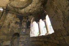 Elementen van de plaats van de kerkarchitectuur van begrafenis van Sinterklaas stock afbeelding