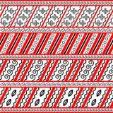 Elementen van de vectormuurschildering van Mezen royalty-vrije illustratie