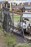 Elementen van het systeem om een huidig-draagt kabel te vervoeren royalty-vrije stock foto's