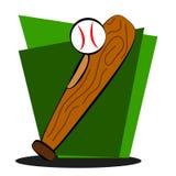 Elementen van honkbal Royalty-vrije Stock Afbeeldingen