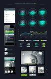 Elementen van Infographics Royalty-vrije Stock Afbeelding