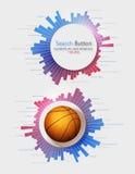 Elementen van Infographics Stock Afbeeldingen