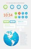 Elementen van Infographics Royalty-vrije Stock Foto's