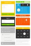 Elementen van infographics Stock Afbeelding