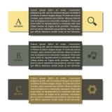 Elementen van infographics, vectorillustratie Royalty-vrije Stock Afbeeldingen