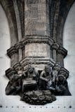Elementen van Italiaanse architectuur royalty-vrije stock foto