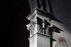 Elementen van Italiaanse architectuur royalty-vrije stock afbeelding