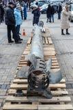 Elementen van Russische raketten BM-30 Smerch Royalty-vrije Stock Fotografie