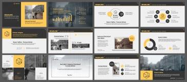 Elementen voor infographics en presentatiemalplaatjes Royalty-vrije Stock Foto