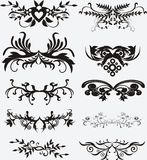 Elementen voor ontwerp Royalty-vrije Stock Foto's