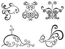 Elementen voor ontwerp vector illustratie