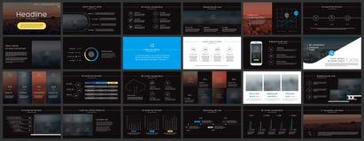 Elementen voor Presentatiemalplaatjes Royalty-vrije Stock Afbeelding