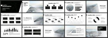 Elementen voor Presentatiemalplaatjes Stock Foto's