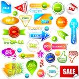 elementförsäljning royaltyfri illustrationer