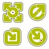 Elementi 31b di disegno Fotografia Stock