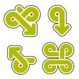 Elementi 31g di disegno Fotografie Stock Libere da Diritti