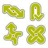 Elementi 31i di disegno Fotografia Stock Libera da Diritti