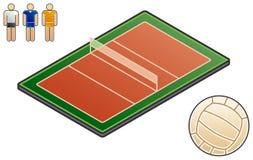 Elementi 48e di Esign. Sport-campo illustrazione vettoriale
