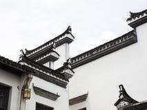 Elementi architettonici di progettazione del cinese tradizionale immagini stock
