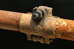 Elementi arrugginiti dell'armatura del metallo Immagine Stock Libera da Diritti