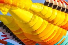 Elementi astratti dell'aquilone per fondo Fotografia Stock