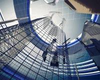 Elementi astratti di architettura Fotografia Stock Libera da Diritti