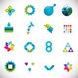 Elementi astratti di disegno Immagine Stock