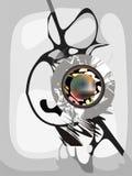 Elementi astratti di disegno Immagini Stock