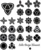 Elementi celtici di progettazione Fotografie Stock