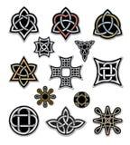Elementi celtici 2 di progettazione Fotografia Stock