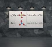 Elementi chimici Immagine Stock