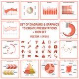 Elementi concettuali di Infographic Fotografie Stock