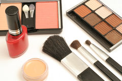 Elementi cosmetici Fotografia Stock