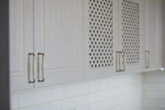Elementi d'annata della cucina, ornamenti e dettagli della cucina nello stile classico Fotografia Stock Libera da Diritti