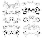 Elementi decorativi Immagini Stock