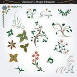Elementi decorativi 7 di progettazione Fotografie Stock Libere da Diritti