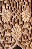 Elementi decorativi di scultura del legno Fotografia Stock Libera da Diritti