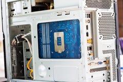Elementi del computer Fotografia Stock