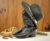 Elementi del cowboy Fotografie Stock Libere da Diritti