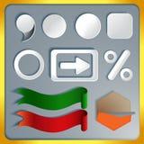 Elementi del infographics Fotografie Stock